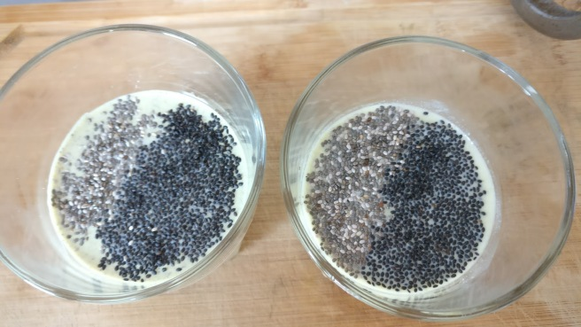 Ready to drink kefir with multiple seeds