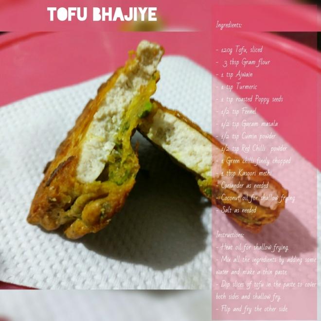 Tofu Bhajiye